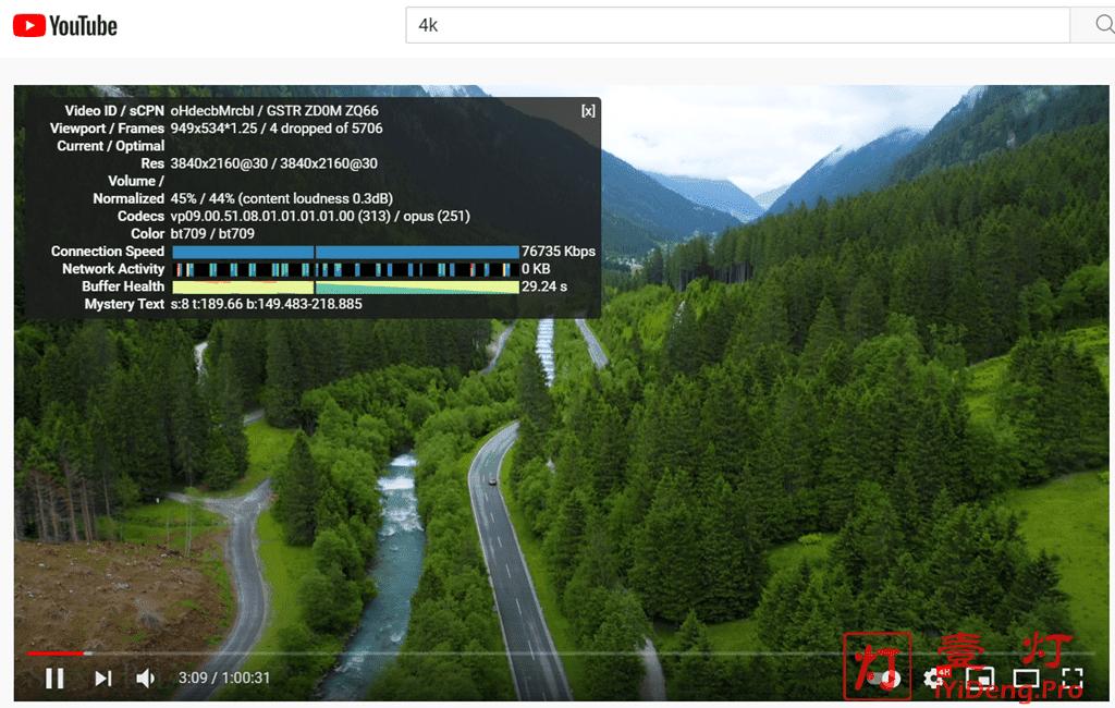 蓝岸V2Club机场YouTube油管4K视频测速