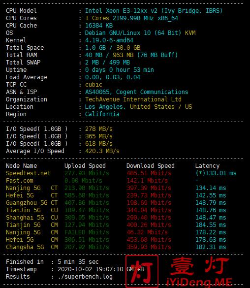 GigsGigsCloud硬件基础信息检测